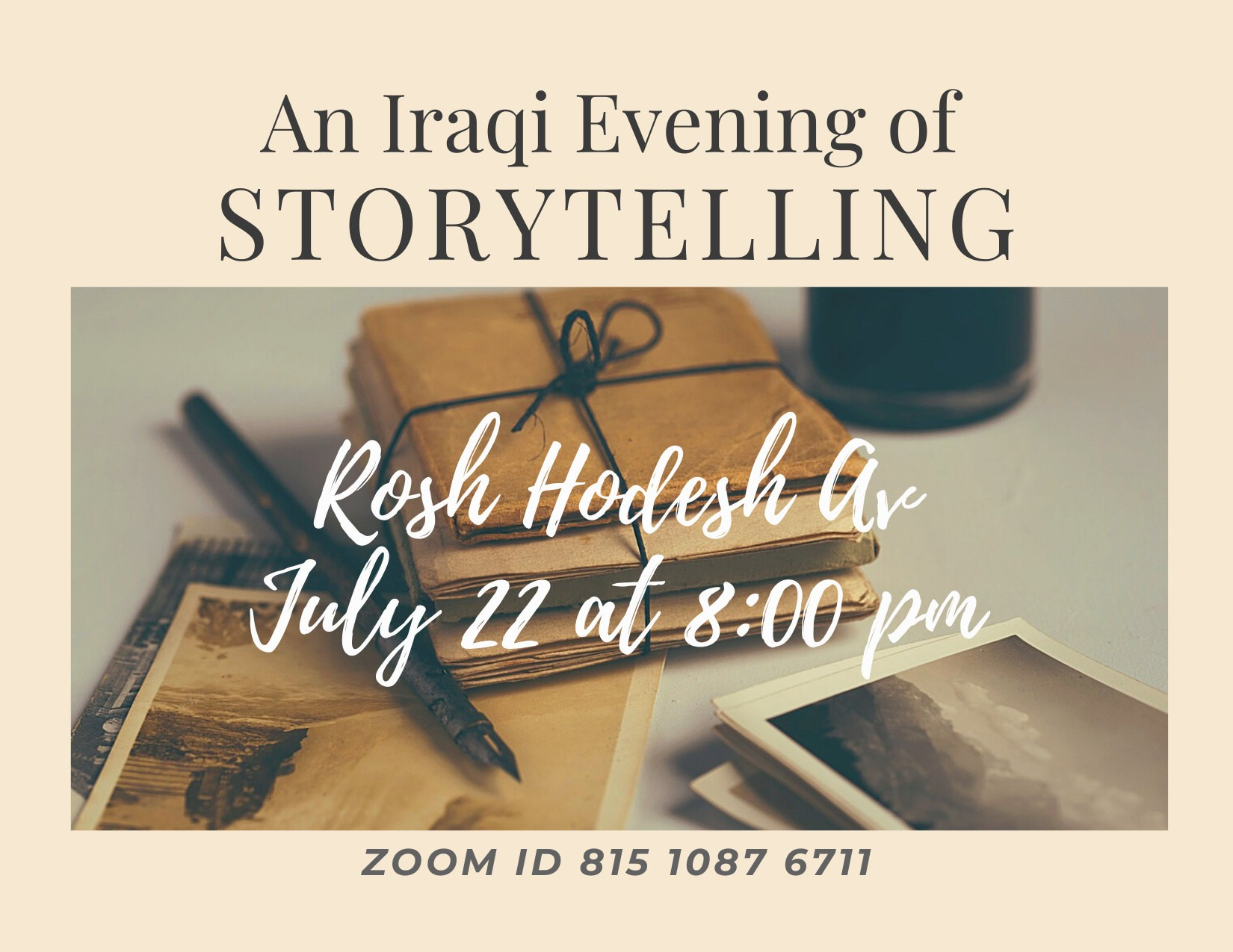 Iraqi Storytelling Evening