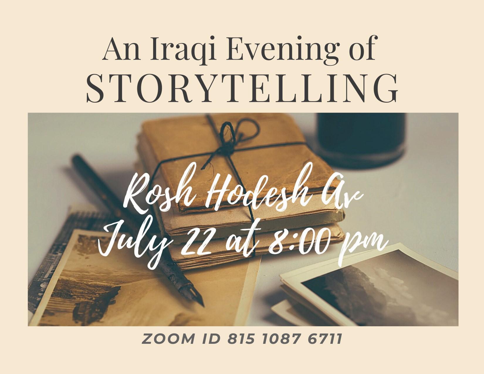 Iraqi Storytelling Evening